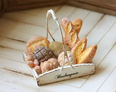 Comida miniatura Dollhouse panadería por miniaturepatisserie