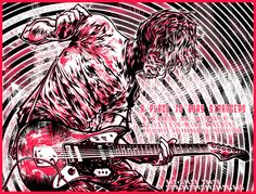 Silkscreen: A Place To Bury Strangers by milestsang