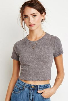 Ribbed Knit Crop Top | Forever 21 - 2002246986