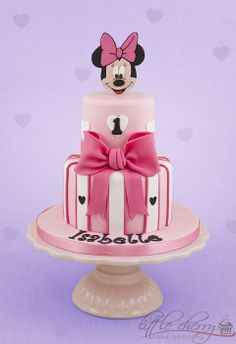 Minnie Mouse - by littlecherry @ CakesDecor.com - cake decorating website