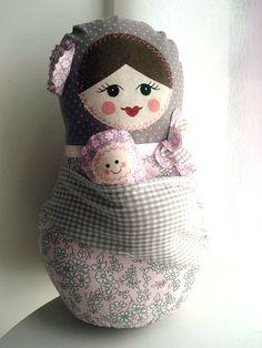 babuschka with baby