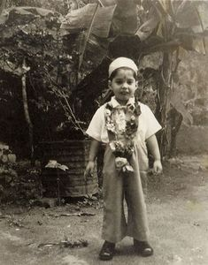 When They Were Young: Rare Vintage Portraits of Famous Rock Stars When They Were Children: Freddie Mercury