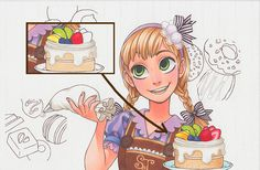 Coloring Characters and Confections with Copic Markers