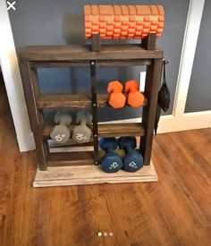 2x4 dumbbell rack  my projects in 2019  diy home gym