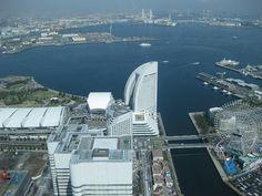 Yokohama, view from LandMark Tower