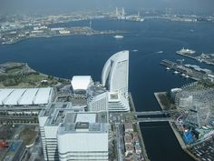 Yokohama, view from LandMark Tower