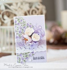Galeria Papieru cards, lavender cards