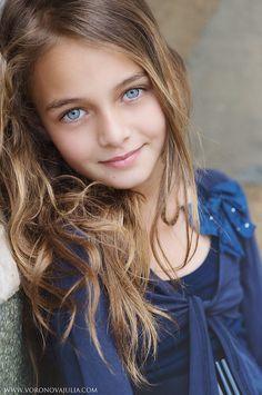 Little girl #blue eyes