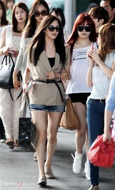 [120610] SNSD Airport back from Taiwan