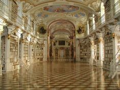 Austria Library Knowledge Culture Europe Italy Books Wisdom Switzerland Vatican