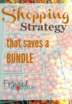 Frugal Mommas Couponing School - One simple tip to save a bundle on family groceries!