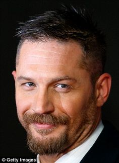 Taking his opportunity: Tom Hardy, 38,  has received an Oscar nod for his turn as John Fitzgerald in The Revenant, however he revealed that Sean Penn, 55, was initially lined up for the part