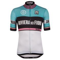 Santini Giro d'Italia 2015 Stage 1 : S. Lorenzo Al Mare - Sanremo Short Sleeve Jersey - White