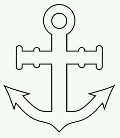 Christian Fish Symbol Coloring Pages Cupcake Template, Cake Templates, Templates Printable Free, Printables, Nautical Party, Nautical Wedding, Navy Party, Pirate Quilt, Anchor Cakes