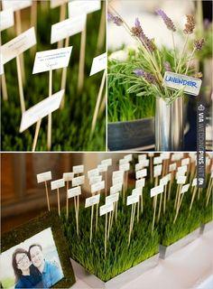 escort card ideas   VIA #WEDDINGPINS.NET