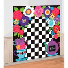 40% OFF: Alice Wonderland Giant 5 Ft Wall Decor Party Supplies Canada - Open A Party