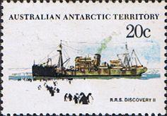 Australian Antarctic Territory 1979 Ships SG 43 Discovery II Fine Mint Scott L43 Other Australian Antarctic Territory Stamps HERE