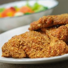 """Gluten-Free Shake and Bake Almond Chicken I """"Got a winner here folks! This recipe is perfect for everyone, not just those following specific diets. It is that wonderful."""""""