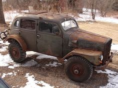 1957 Volvo Sugga TP21 Military 4x4 For Sale Front