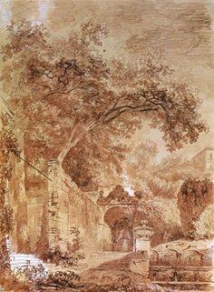 By Jean-Honore Fragonard