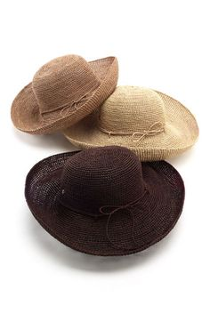 Helen Kaminski 'Provence 12' Raffia Straw Hat available at #Nordstrom - want the gray and blue/green hat