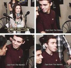 """Zayn from The Wanted. Zayn from The Wanted."" Lol Nathan's face but seriously please dispose of this idiot."
