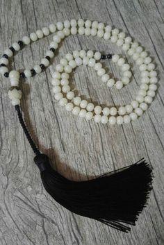 Japamala 108 contas Bodhi Natural