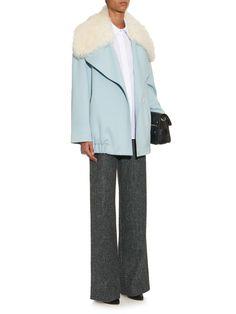 Wool and cashmere-blend oversized coat   Adam Lippes   MATCHESFASHION.COM UK