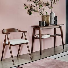 Ercol Lugo Console Table, Dark Wood | Tables - Barker & Stonehouse