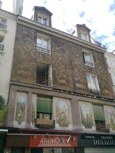 Façade, rue Mouffetard - Paris