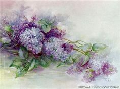 Lilacs for decoupage .. Discussion on LiveInternet - Russian Service Online Diaries