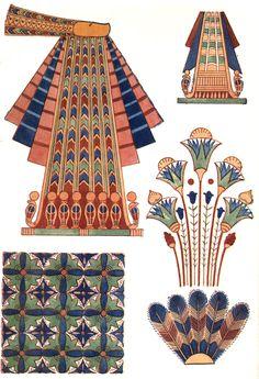 Vintage Print - Ancient Egyptian Ornament