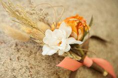 Custom Cream and Fall Orange Rustic Natural by KAArtisticEvents, October Wedding, Wedding 2015, Fall Wedding Colors, Wedding Flowers, English Country Gardens, Boutonnieres, Wedding Boutonniere, Wedding Inspiration, Wedding Ideas