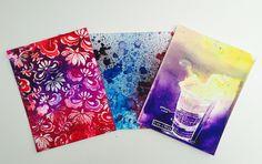 Ken Oliver Color Bursts: 3 backgrounds