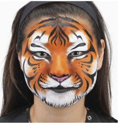 Jungle book face painting idea for your next outdoor movie event- Southern Outdoor Cinema expert tip for theming and enhancing an outdoor movie event.
