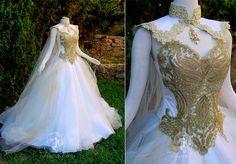 12 Фантазийных свадебных платьев для сказочной свадьбы