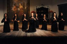 The House of Bernarda Alba by Federico Garcia Lorca..   I am close to directing this! Can't wait!!!