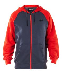 Look at this Pewter & Red  Legacy Zip-Up Fleece Hoodie on #zulily today!