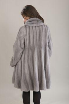 Ava Sapphire Mink coat