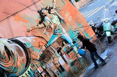 Alice Pasquini by romephotoblog, via Flickr