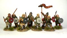Early Saxons - would work with swapping for larger shields