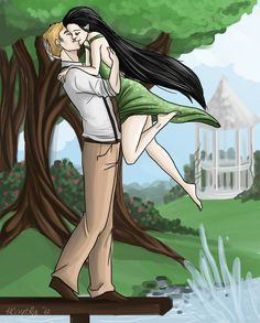 Mortal again by *peekabooga on deviantART. Lena and Patton from Fablehaven.