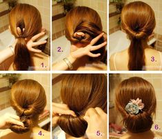 45 trendy wedding hairstyles for long hair ponytail twists Easy Hairstyles For Kids, Step By Step Hairstyles, Side Hairstyles, Wedding Hairstyles For Long Hair, Fancy Hairstyles, Hair Wedding, Teenage Hairstyles, Hairstyles Videos, Popular Hairstyles