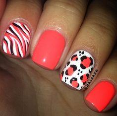 nails, simple nails, nail designs