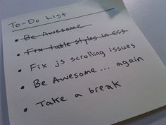 Put fun (and funny) things on your to-do list.