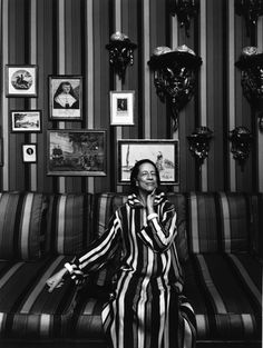 """Diana Vreeland, New York, NY, 1974  """"We don't take pictures with our cameras. We take them with our hearts and we take them with our minds, and the camera is nothing more than a tool."""" - Arnold Newman"""