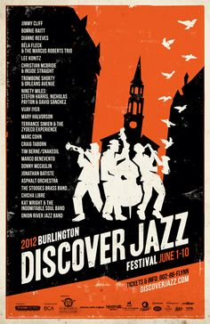 Discover Jazz Festival 2012 - Burlington, VT    I was there in 1999.