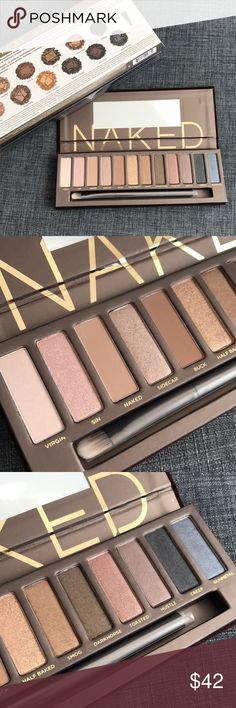 BNIB URBAN DECAY NAKED PALETTE 1 EYESHADOW PRIMER Brand new in box. Getting rid of some of my backups that I don't think I'll be using. 100% Authentic as always. Purchased by me. Urban Decay Makeup Eyeshadow