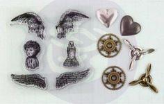 Stempel i Junkyard Findings - Skrzydła anioła Prima przydasiepasjonaty