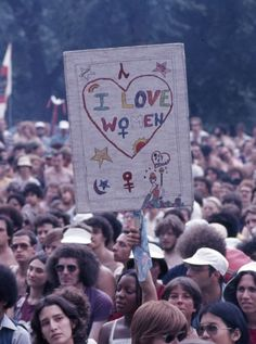 Discovered by Shan ♡. Find images and videos about gay, lesbian and lgbt on We Heart It - the app to get lost in what you love. Protest Signs, Protest Art, Riot Grrrl, Hippie Life, Power To The People, Grafik Design, New Wall, Woodstock, Wall Collage
